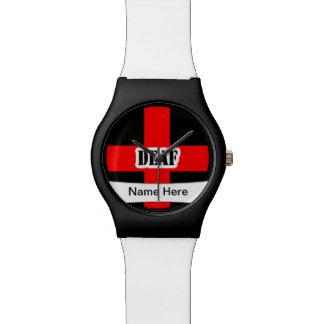 Medical Alert Deaf  Emergency Wristwatch