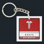 "Medical Alert Keychain - Customized<br><div class=""desc"">Medical Alert Keychain - Customize by Julie Alvarez</div>"