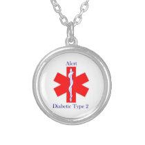 Medical Alert Necklace Diabetes Type 2