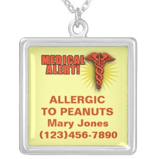 Medical Alert Necklace to Customize