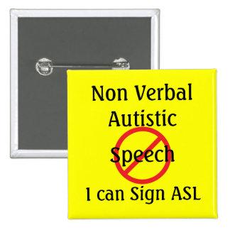 Medical Alert Tools Non Verbal Autistic Button