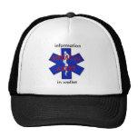 Medical Alert Trucker Hat