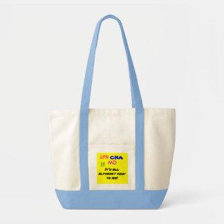 Medical Alphabet Soup Tote Bag