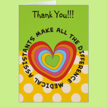 Medical Assistant Appreciation Card