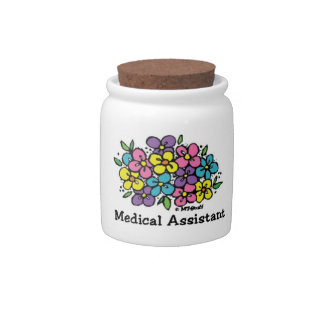 Medical Assistant Blooms 1 Candy Dish