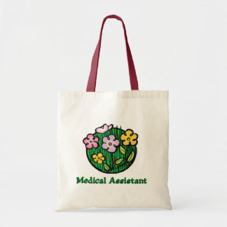 Medical Assistant Blooms 2 Tote Bag