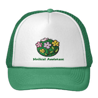 Medical Assistant Blooms 2 Trucker Hat