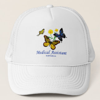 Medical Assistant Butterfly Trucker Hat