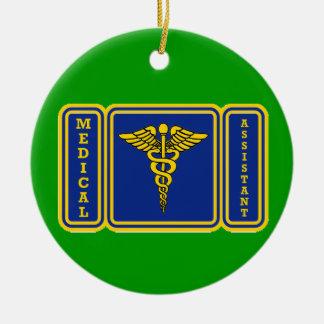 Medical Assistant Ceramic Ornament