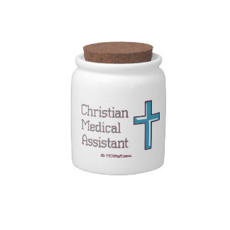 Medical Assistant - Christian Cross Candy Jars