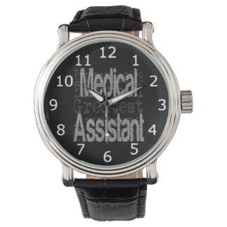 Medical Assistant Extraordinaire Wristwatch