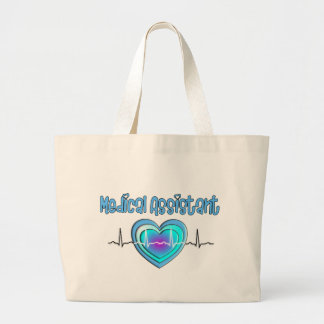 Medical Assistant Gifts Large Tote Bag
