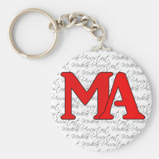 Medical Assistant keychain