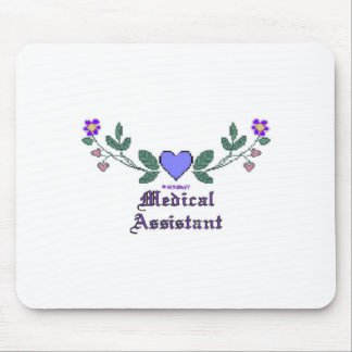 Medical Assistant P Crossstitch Mouse Pad