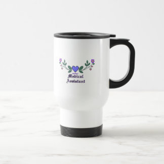 Medical Assistant P Crossstitch Travel Mug