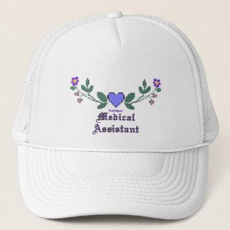Medical Assistant P Crossstitch Trucker Hat