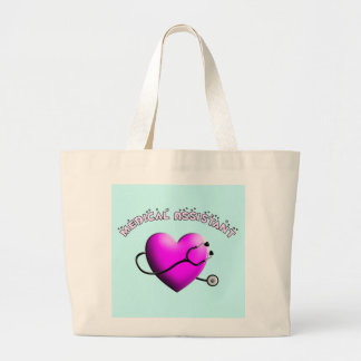 Medical Assistant PINK HEART Design Gifts Bags