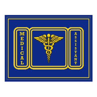 Medical Assistant Postcard
