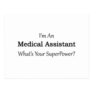 Medical Assistant Postcard