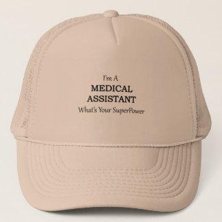 MEDICAL ASSISTANT TRUCKER HAT