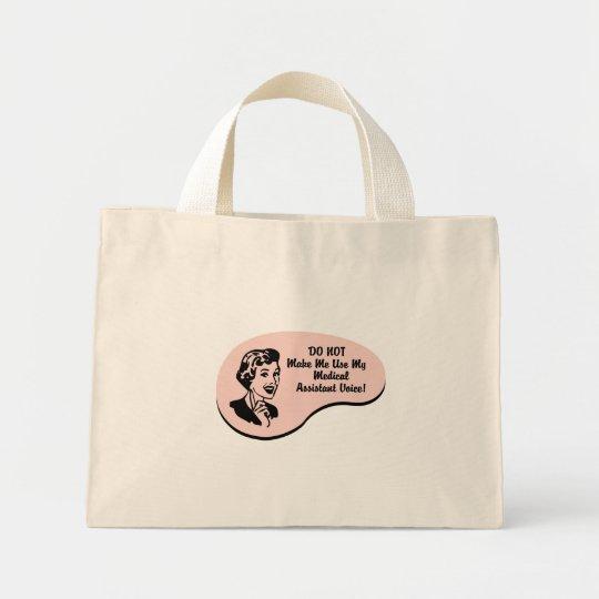 Medical Assistant Voice Mini Tote Bag