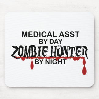 Medical Assistant Zombie Hunter Mouse Pad