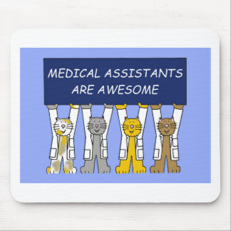 Medical assistants are awesome. mouse pad