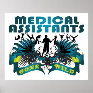 Medical Assistants Gone Wild Poster