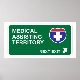 Medical Assisting Next Exit Poster