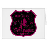 Medical Asst Diva League Card