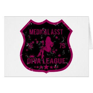 Medical Asst Diva League Card