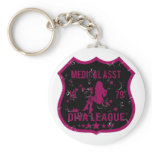 Medical Asst Diva League Keychain