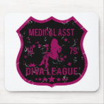 Medical Asst Diva League Mouse Pad