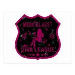 Medical Asst Diva League Postcard