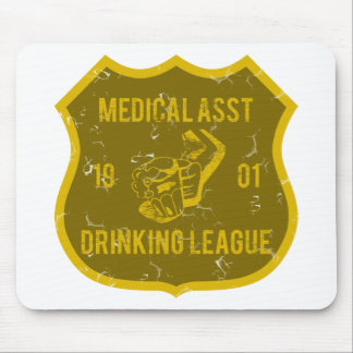 Medical Asst Drinking League Mouse Pad