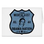 Medical Asst Obama Nation Card