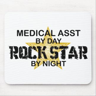 Medical Asst Rock Star Mouse Pad
