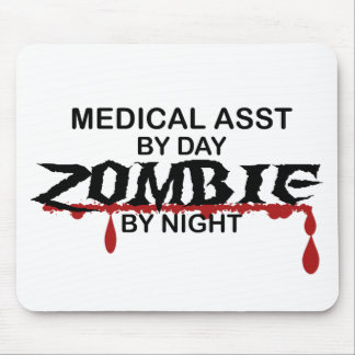 Medical Asst Zombie Mouse Pad