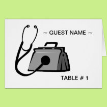 Medical Bag Table # Place Card