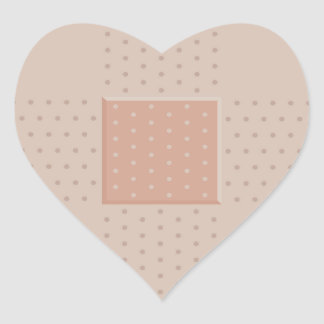 Medical Band-Aid Plaster - Heart Sticker