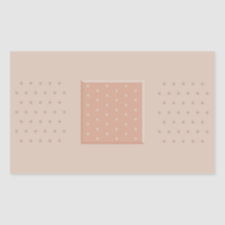 Medical Band-Aid Plaster - Rectangle Sticker