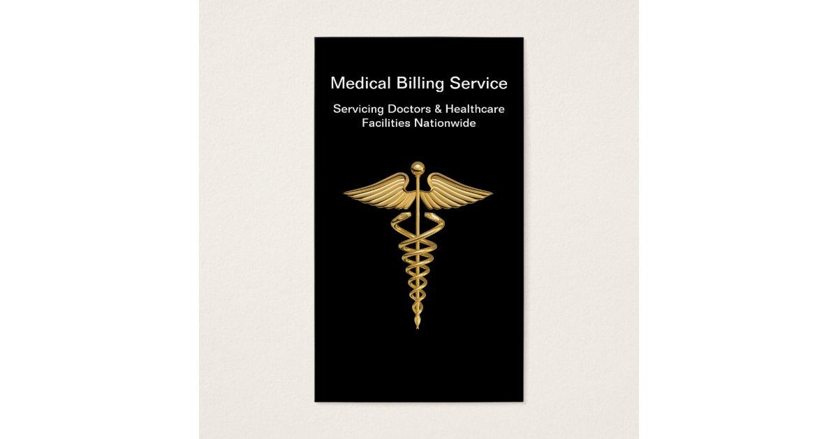 Medical Billing Business Cards   Zazzle.com