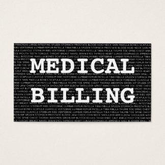 Medical Billing Medical Words Business Card