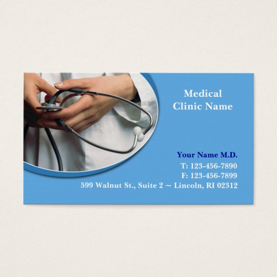 Medical Business Card w/Appointment