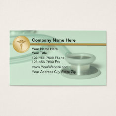 Medical Business Cards at Zazzle