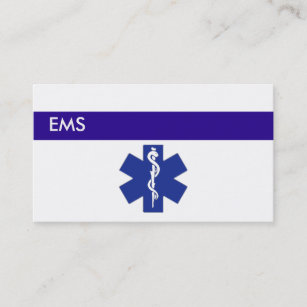 Ems business cards templates zazzle medical business cards ems colourmoves