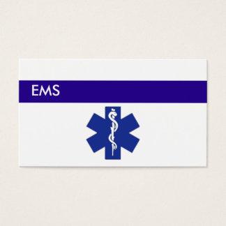 Medical Business Cards EMS