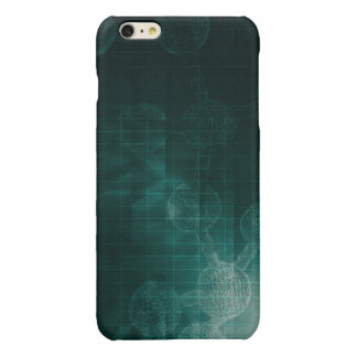 Medical Business Setup or Startup Company Glossy iPhone 6 Plus Case