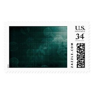 Medical Business Setup or Startup Company Postage Stamp