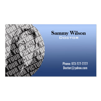 Medical Businsess Cards Double-Sided Standard Business Cards (Pack Of 100)